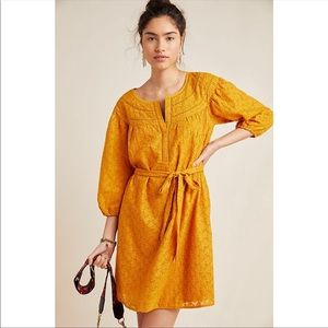Anthropologie embroidered tunic